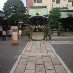 茅の輪、作りました。夏越の大祓(京都)