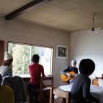 ミレットの食事と青木隼人のギター「ひと皿のうえにある季節」(2016/2/27)