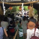 2017年7〜8月御手洗祭・下鴨古本市・五山送り火