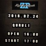 シングル『その線は水平線』、『くるりライブツアー「線」』Zepp Osaka Bayside(2018/2/24)